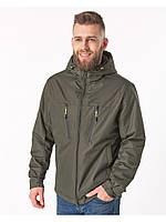 Демисезонная мужская куртка зеленая (46-54рр)