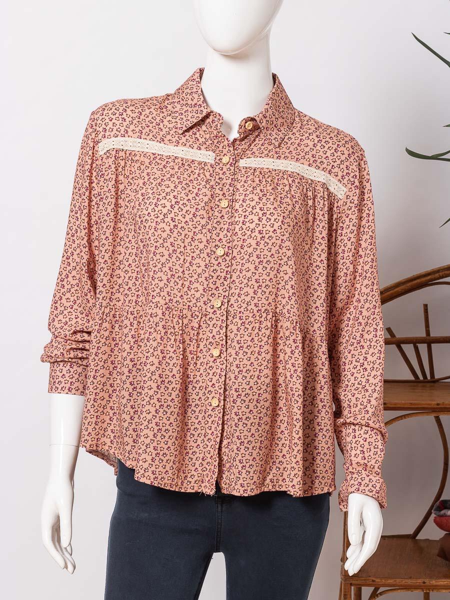 Блуза женская WIYA 10368 CIPRIA (PUDRA))