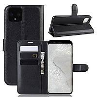 Чохол-книжка Litchie Google Wallet для Pixel 4 XL Black
