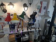 Настільна лампа з кріпленням Lemanso LMN074
