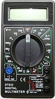 Мультиметр Тестер Цифровой Точный DT- 832 SMU Shop
