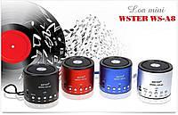 Колонка Мини портативная WSTER WS-A8 с MP3, USB и FM-pадио SMU Shop