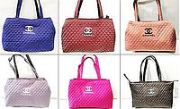 Стеганные женские сумки Chanel оптом (6 цветов)40*55см, фото 1