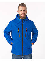 Летняя мужская куртка синяя (46-54рр)