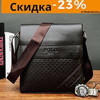 Качественная мужская сумка планшет поло