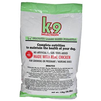 Сухой корм для щенков крупных пород K-9 Selection Puppy Large Breed 20 кг