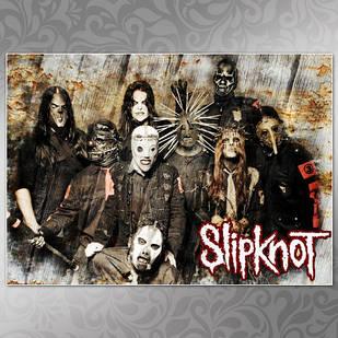 Плакат Slipknot 001