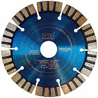 Алмазный диск по бетону Kona Flex 125 х 2,5 х 12 х 22,2 Segmented Turbo, фото 1