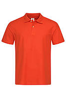 Футболка поло polo мужская темно оранжевая Stedman - BLOСТ3000