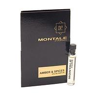 Montale Amber & Spices парфюмированная вода. 2мл. Унисекс