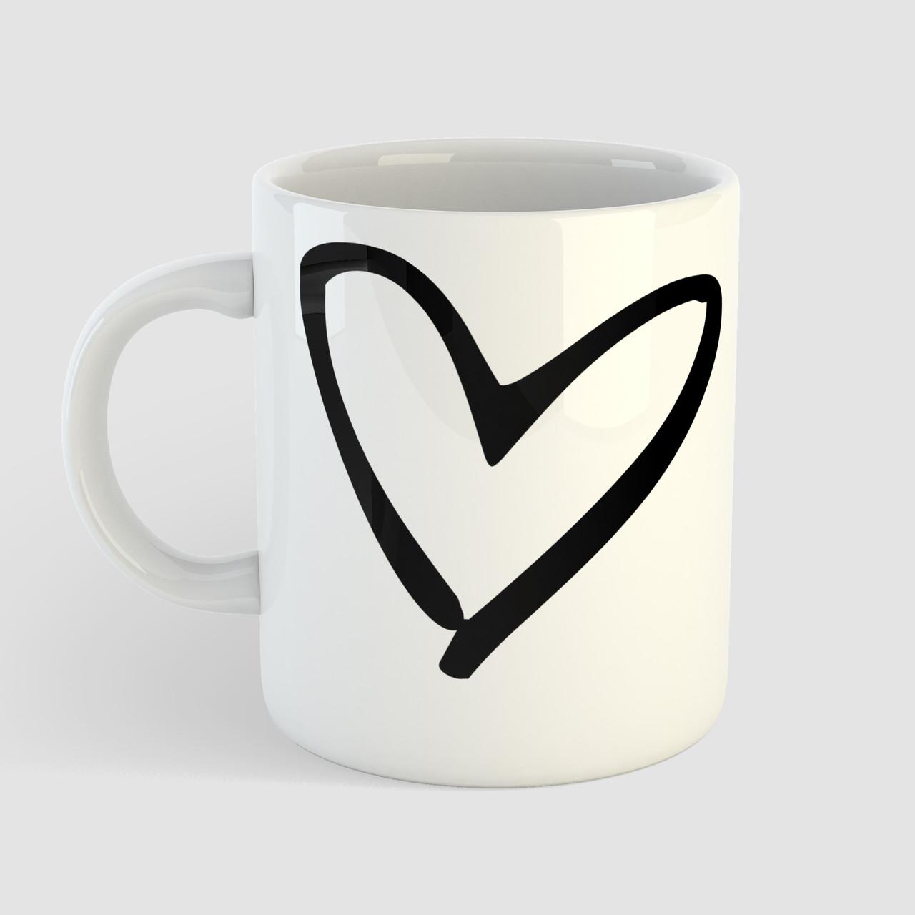 Чашка подарок любимому / любимой Сердце. Любовь. Love. Чашка с фото