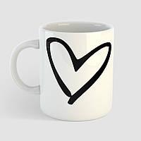 Чашка подарок любимому / любимой Сердце. Любовь. Love. Чашка с фото, фото 1