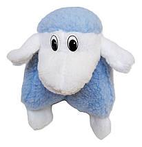 Подушка-игрушка Барашек Шон  Размер 28х28 см голубой, фото 2