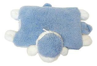 Подушка-игрушка Барашек Шон  Размер 28х28 см голубой, фото 3