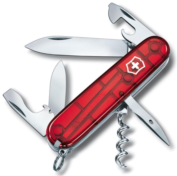 Качественный карманный складной нож Victorinox Spartan 13603.T красный