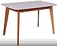 Кухонний буковий комплектект стіл + 4 стільця модерн Т, фото 3
