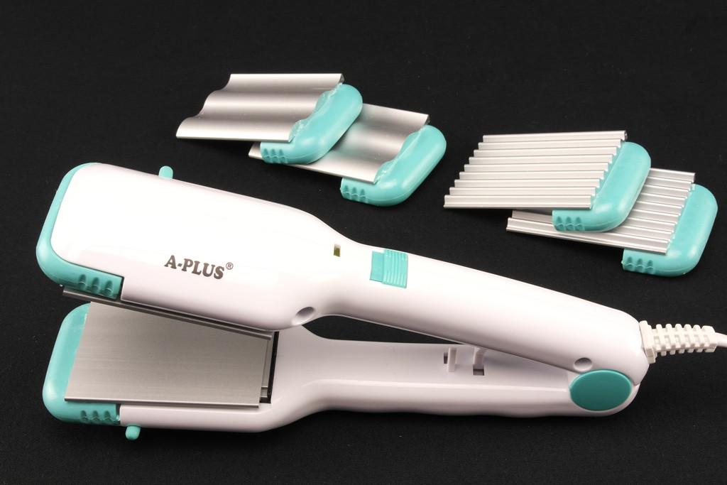Утюжок для выпрямления волос А-Плюс A-Plus HS-1534 с насадками гофре