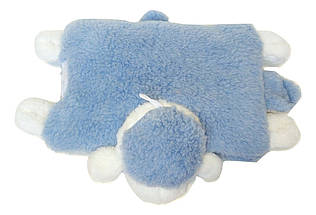 Подушка-игрушка Барашек Шон  Размер 43х34 см голубой, фото 3