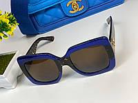 Крутые солнцезащитные очки Gucci  LUX (реплика), фото 1