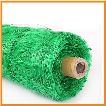Сетка огуречная (шпалерная) зеленая 13*18 рулон - (1.7м * 500м)