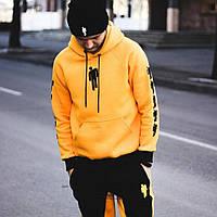 Спортивный костюм Billie Eilish желтый