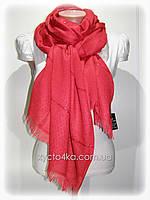 Однотонный шарф с люрексом Моника, красный