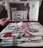 Постельное белье, для новорожденных, мишки Тедди в лимузине, Victoria, Турция