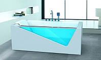 Гидромассажная ванна Dusrux LG1700 (левосторонняя), 1700х800х600 мм