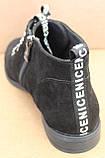 Ботинки женские на байке замшевые от производителя модель БД300-1, фото 4