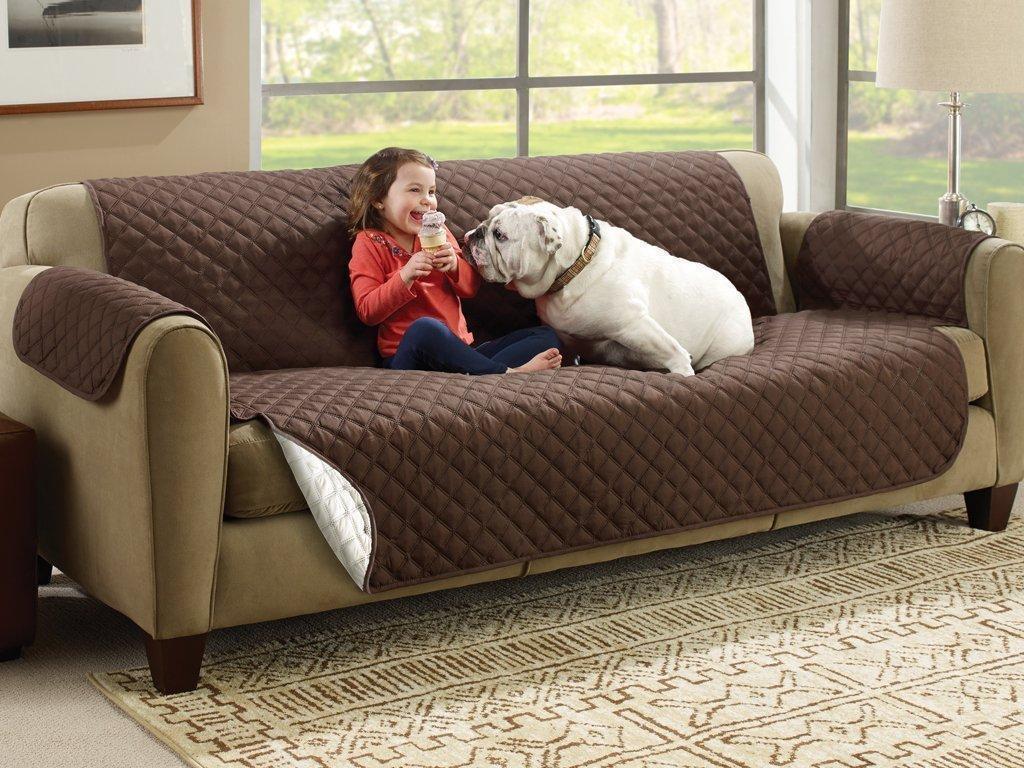 Покрывало на диван двустороннее Couch Coat, накидка двух цветов