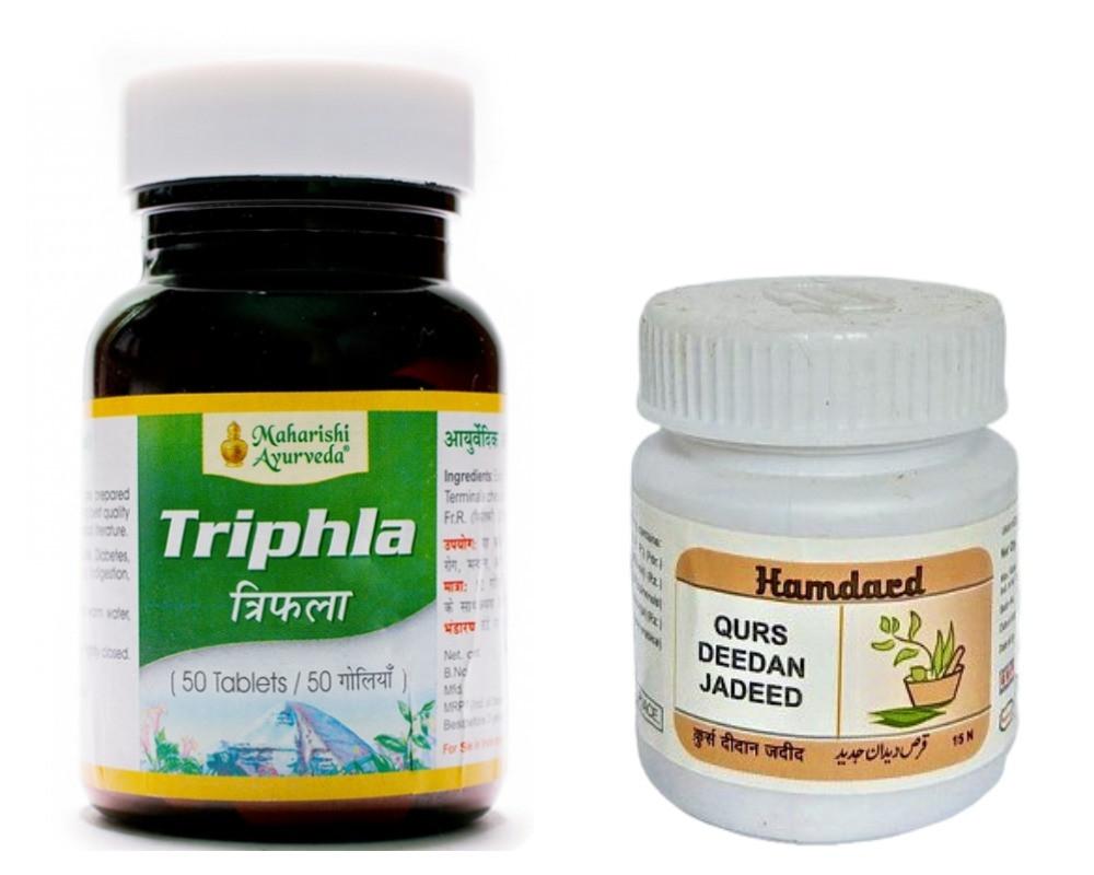 Антипаразитарный комплекс: курс дидан жадит + трифала