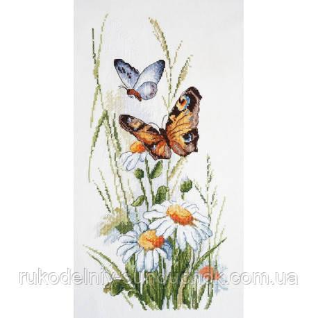 Набір для вишивання хрестом ТМ Мар'я Майстриня 06.002.63 Лугові квіти