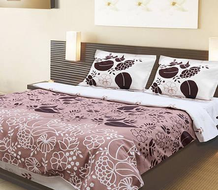 """Красивый стильный комплект постельного белья """"Мокко""""., фото 2"""