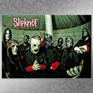 Плакат Slipknot 02