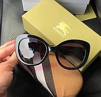 Модные солнцезащитные очки Burberry  LUX (реплика), фото 1