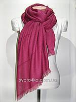 Однотонный шарф с люрексом Моника, фуксия
