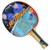 Ракетка для настільного тенісу/пінг-понгу Stiga Rossa WRB, 1*