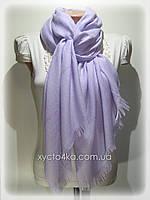 Однотонный шарф с люрексом Моника, светло сиреневый