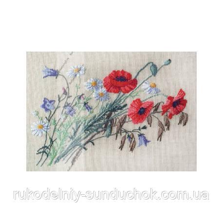 Набор для вышивания крестом ТМ Марья Искусница 06.002.50 Маки и колокольчики