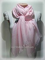 Однотонный шарф с люрексом Моника, розовый