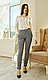 Жіночі трикотажні штани, стрейч, пояс гумка, дрібний принт р. 42,44,46,48,50,54,56 , штани, фото 2