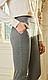 Жіночі трикотажні штани, стрейч, пояс гумка, дрібний принт р. 42,44,46,48,50,54,56 , штани, фото 4