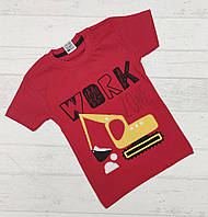 Детская футболка для мальчиков 3,4,5,6 лет.