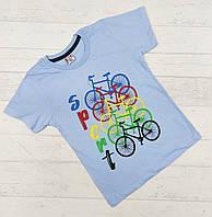 Детская футболка для мальчиков 3,4,5,6,7 лет.
