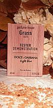 Тестер Dolce & Gabbana Light Blue pour femme 60 ml in wood (реплика)