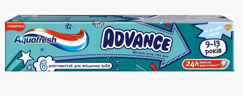 Зубная паста для детей Aguafresh, фото 2