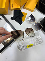 Крутые солнцезащитные очки Fendi  LUX (реплика), фото 1