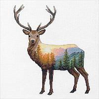 Набор для вышивки крестом Dimensions 70-35387 «Олень»