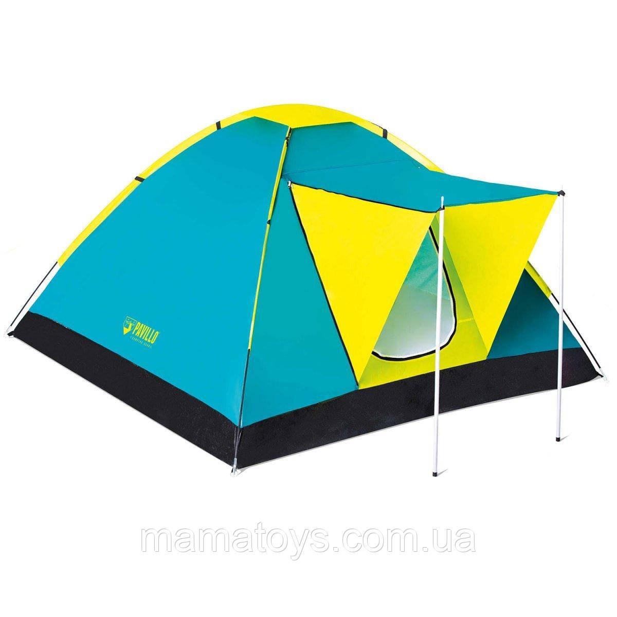 Палатка Туристическая Трехместная Pavillo BW 68088 Cool Ground 3 Размеры210 х 210 х 120 см Бествей BestWay