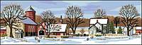 Набор для вышивки крестом Dimensions 03841 «Живописная ферма»